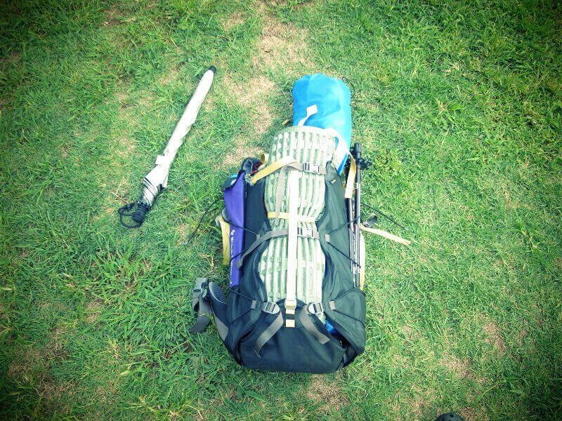 クラフトビアピクニックに持っていった荷物