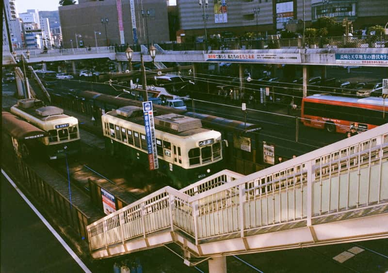 OLYMPUS PEN F  長崎 路面電車