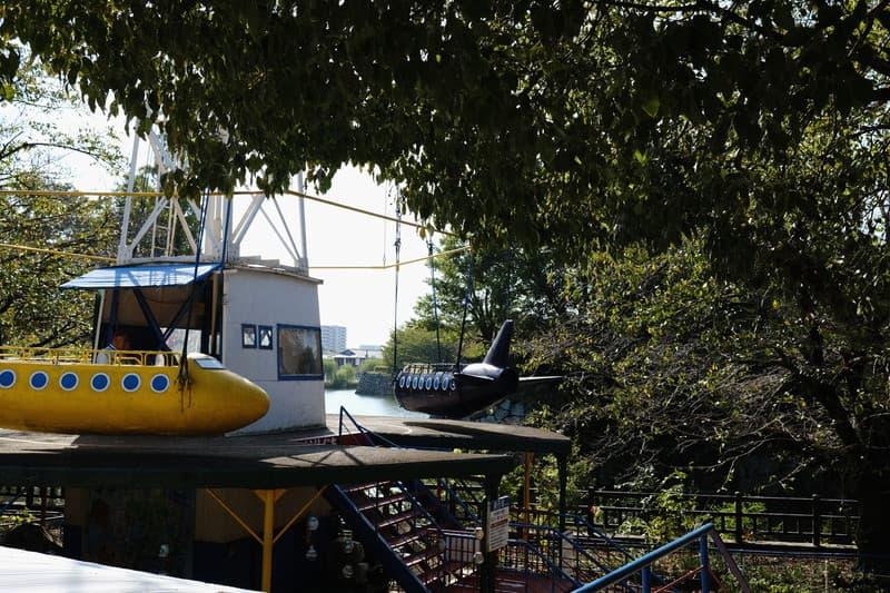 姫路市立動物園 飛行機