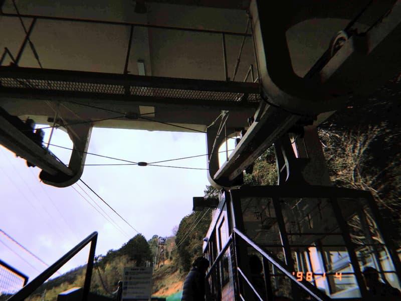近江八幡 八幡山 ケーブル